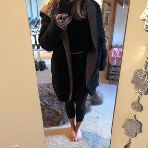 Urban outfitters teddy bear oversized sweater